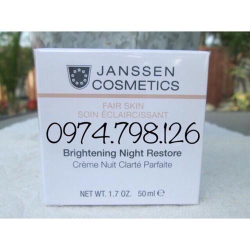 ?Kem dưỡng da ban đêm làm trắng sáng da BRIGHTENING NIGHT RESTORE 50ML  Janssen Cosmestics - 9090007 , 18781213 , 15_18781213 , 2030000 , Kem-duong-da-ban-dem-lam-trang-sang-da-BRIGHTENING-NIGHT-RESTORE-50ML-Janssen-Cosmestics-15_18781213 , sendo.vn , ?Kem dưỡng da ban đêm làm trắng sáng da BRIGHTENING NIGHT RESTORE 50ML  Janssen Cosmestics