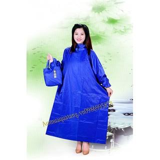áo mưa xẻ tà 1m4 vải dù - B31 thumbnail