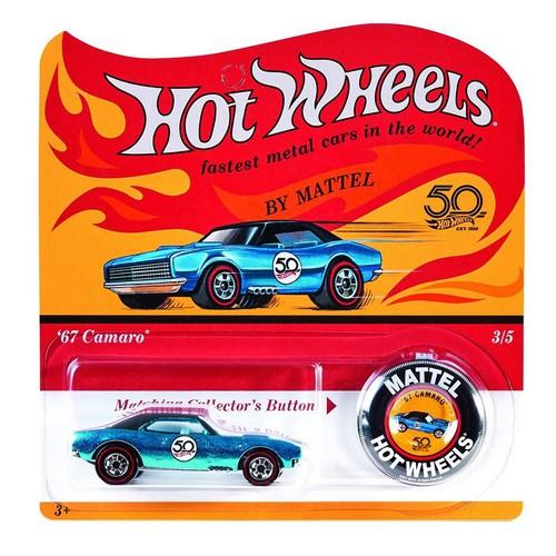 Xe mô hình tỉ lệ 1:64 Hot Wheels 50th Anniversary Originals