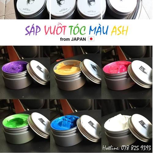 Sáp Vuốt Tóc Màu ASH Nhật Bản
