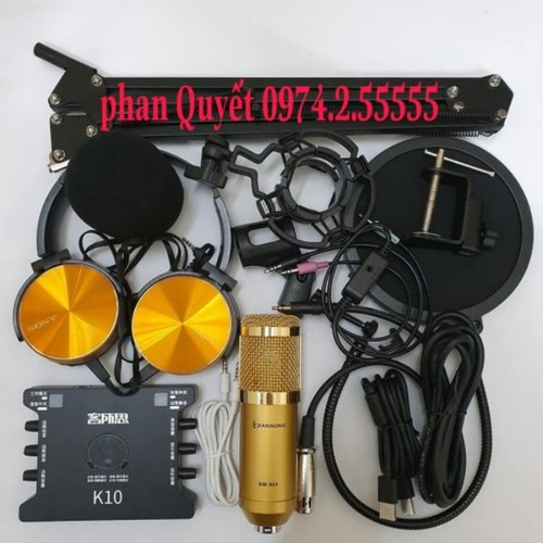combo Bộ mic thu âm livestream hatkaraoke micro ZANGSONG BM900 card K10 dây live ma2 chân kẹp màng lọc âm TẶNG TAI 450 - 9087448 , 18777247 , 15_18777247 , 1000000 , combo-Bo-mic-thu-am-livestream-hatkaraoke-micro-ZANGSONG-BM900-card-K10-day-live-ma2-chan-kep-mang-loc-am-TANG-TAI-450-15_18777247 , sendo.vn , combo Bộ mic thu âm livestream hatkaraoke micro ZANGSONG BM90