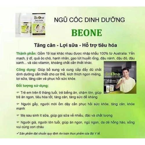 ngủ cốc dinh dưỡng beone