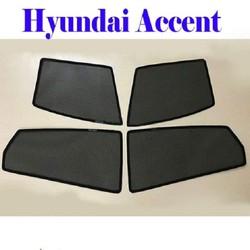 Bộ rèm che nắng theo xe HYUNDAI ACCENT mới nhất, tiện lợi nhất , khắc phục hoàn toàn các khuyết điểm của những bộ rèm che nắng xe hơi trên thị trường hiện nay