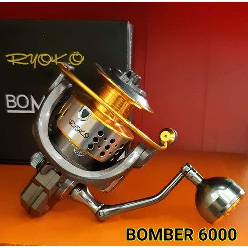 Máy Câu Cá Ryoko Bomber 6000 Thái Lan - 5018537 , 18785101 , 15_18785101 , 760000 , May-Cau-Ca-Ryoko-Bomber-6000-Thai-Lan-15_18785101 , sendo.vn , Máy Câu Cá Ryoko Bomber 6000 Thái Lan