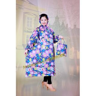 áo mưa bít hoa - B28 thumbnail