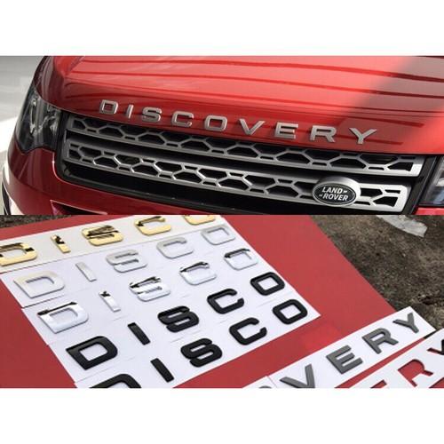 Bộ tem chữ nổi 3D DISCOVERY trang trí xe hơi ô tô đủ 5 màu sang trọng - 9087737 , 18777600 , 15_18777600 , 89000 , Bo-tem-chu-noi-3D-DISCOVERY-trang-tri-xe-hoi-o-to-du-5-mau-sang-trong-15_18777600 , sendo.vn , Bộ tem chữ nổi 3D DISCOVERY trang trí xe hơi ô tô đủ 5 màu sang trọng