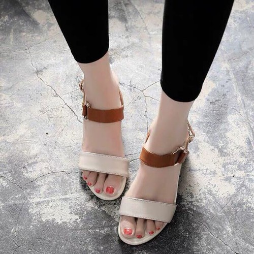 giày cao gót quai hậu cao 7 phân