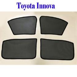 Bộ rèm che nắng theo xe TOYOTA INNOVA mới nhất, tiện lợi nhất , khắc phục hoàn toàn các khuyết điểm của những bộ rèm che nắng xe hơi trên thị trường hiện nay