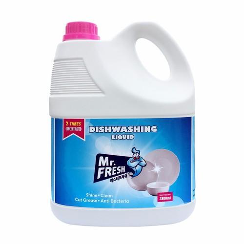 Nước rửa bát siêu đậm đặc an toàn Mr Fresh Korea 3,8L Loại không mùi - 9091378 , 18783751 , 15_18783751 , 180000 , Nuoc-rua-bat-sieu-dam-dac-an-toan-Mr-Fresh-Korea-38L-Loai-khong-mui-15_18783751 , sendo.vn , Nước rửa bát siêu đậm đặc an toàn Mr Fresh Korea 3,8L Loại không mùi
