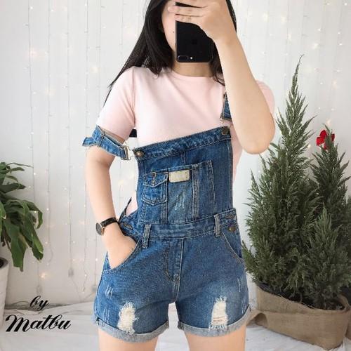 Quần yếm jeans nữ đẹp - 9091416 , 18783792 , 15_18783792 , 169000 , Quan-yem-jeans-nu-dep-15_18783792 , sendo.vn , Quần yếm jeans nữ đẹp