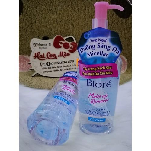 Nước Tẩy Trang Sạch Nhờn Biore Makeup Remover Oil Clear 300ml - 9090050 , 18781262 , 15_18781262 , 190000 , Nuoc-Tay-Trang-Sach-Nhon-Biore-Makeup-Remover-Oil-Clear-300ml-15_18781262 , sendo.vn , Nước Tẩy Trang Sạch Nhờn Biore Makeup Remover Oil Clear 300ml