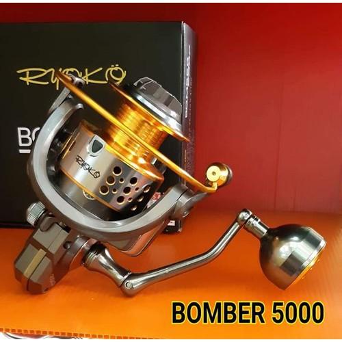 Máy Câu Cá Ryoko Bomber 5000 Thái Lan hàng đẹp - 9091909 , 18784391 , 15_18784391 , 710000 , May-Cau-Ca-Ryoko-Bomber-5000-Thai-Lan-hang-dep-15_18784391 , sendo.vn , Máy Câu Cá Ryoko Bomber 5000 Thái Lan hàng đẹp