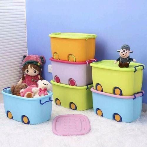 Thùng nhựa có nắp bánh xe đụng đồ dùng đồ choi cho bé cho mẹ - 9088786 , 18779134 , 15_18779134 , 149000 , Thung-nhua-co-nap-banh-xe-dung-do-dung-do-choi-cho-be-cho-me-15_18779134 , sendo.vn , Thùng nhựa có nắp bánh xe đụng đồ dùng đồ choi cho bé cho mẹ