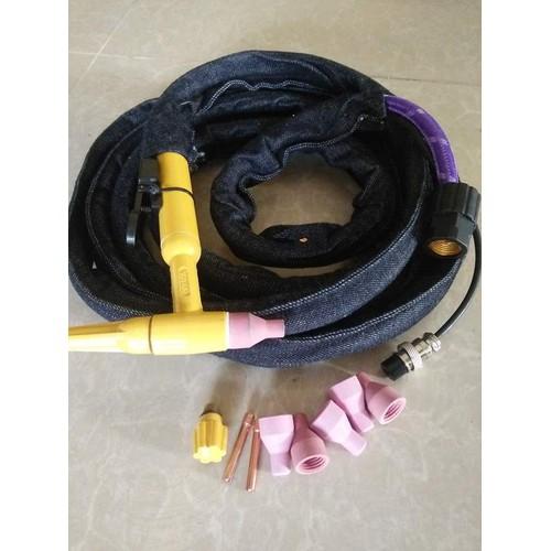 Dây hàn tig điện khí chung chống gập ống chịu nhiệt dài 4m