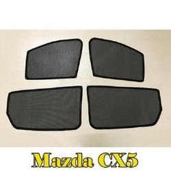 Bộ rèm che nắng theo xe Mazda CX5 mới nhất, tiện lợi nhất , khắc phục hoàn toàn các khuyết điểm của những bộ rèm che nắng xe hơi trên thị trường hiện nay