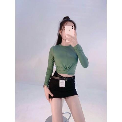 Áo thun nữ tay dài