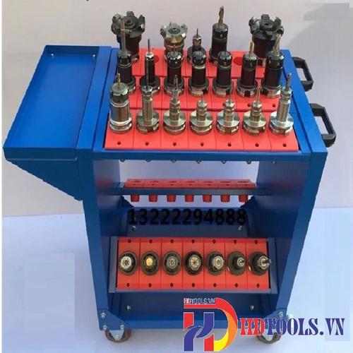 Xe đẩy dụng cụ máy CNC BT40, giá để chuôi dao BT40, tủ chưa dao BT40 cho máy CNC - 9092379 , 18785381 , 15_18785381 , 4400000 , Xe-day-dung-cu-may-CNC-BT40-gia-de-chuoi-dao-BT40-tu-chua-dao-BT40-cho-may-CNC-15_18785381 , sendo.vn , Xe đẩy dụng cụ máy CNC BT40, giá để chuôi dao BT40, tủ chưa dao BT40 cho máy CNC