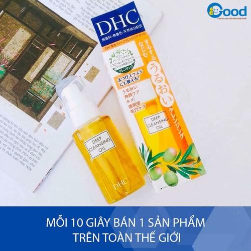 Dầu Tẩy Trang Olive DHC Deep Cleansing Oil Nhật Bản 70ml