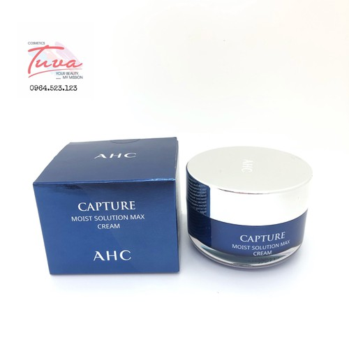 Kem Dưỡng Ẩm, Cấp Nước AHC Capture Moist Solution Max Cream 50ml