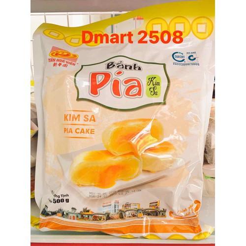 Bánh pía kim sa đậu trứng muối Tân Huê Viên 1kg - 9101117 , 18798457 , 15_18798457 , 156000 , Banh-pia-kim-sa-dau-trung-muoi-Tan-Hue-Vien-1kg-15_18798457 , sendo.vn , Bánh pía kim sa đậu trứng muối Tân Huê Viên 1kg