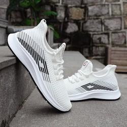 Giày thể thao nam, sneaker nam phối họa tiết phong cách, giày đi bộ, đi chơi, đi tập,…