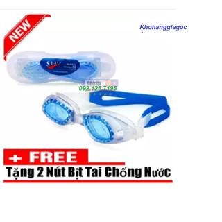Bộ 2 kính bơi - bộ 2 kính bơi trẻ em tặng kèm nút bịt tai