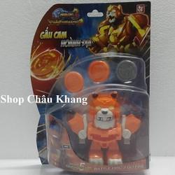 Gấu Cam Hoành Địa - Chiến Long Xạ Thủ Battle Disc 3 DQL-80204