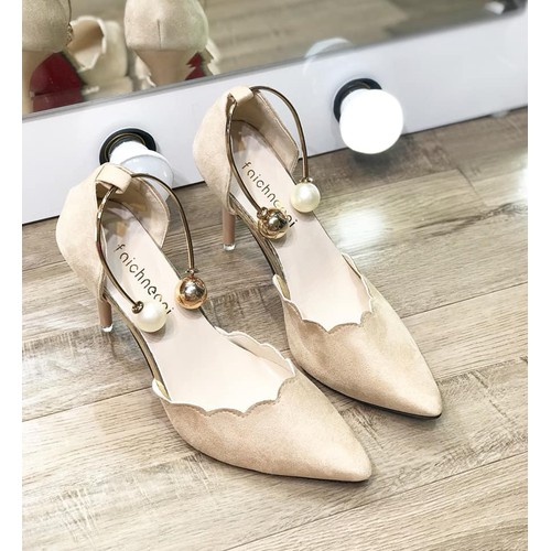 giầy cao gót nữ đính ngọc - 9098411 , 18794377 , 15_18794377 , 160000 , giay-cao-got-nu-dinh-ngoc-15_18794377 , sendo.vn , giầy cao gót nữ đính ngọc