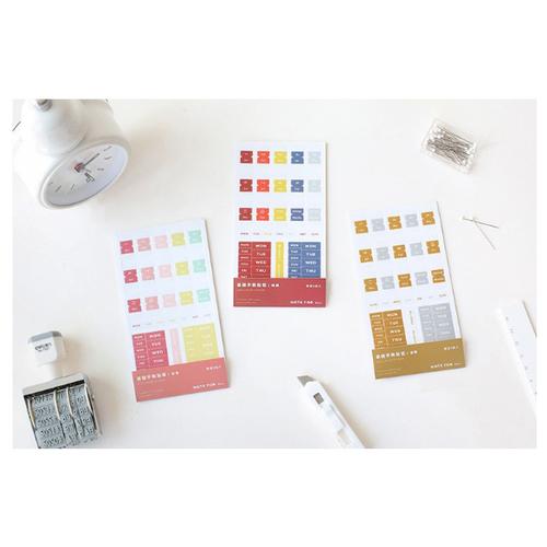Basic pocket sticker cho planner