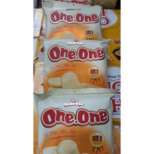 Bánh gạo ngọt one one vị phô mai bắp 118g - 19131293 , 18792480 , 15_18792480 , 21500 , Banh-gao-ngot-one-one-vi-pho-mai-bap-118g-15_18792480 , sendo.vn , Bánh gạo ngọt one one vị phô mai bắp 118g