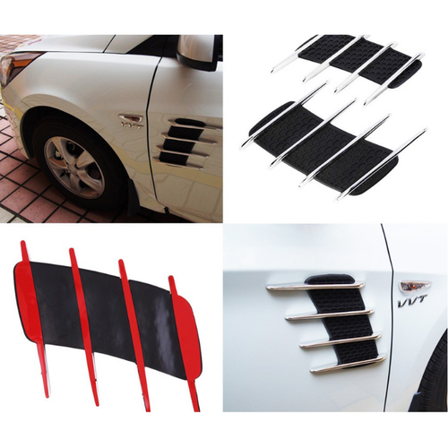 Bộ 2 hốc gió mang cá 4 sọc dán trang trí cánh cửa ô tô, xe hơi - 4839087 , 18788328 , 15_18788328 , 150000 , Bo-2-hoc-gio-mang-ca-4-soc-dan-trang-tri-canh-cua-o-to-xe-hoi-15_18788328 , sendo.vn , Bộ 2 hốc gió mang cá 4 sọc dán trang trí cánh cửa ô tô, xe hơi