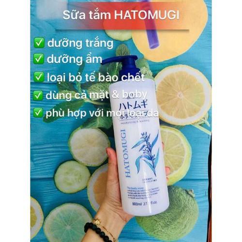 Sữa tắm Hatomugi - 7786171 , 18800536 , 15_18800536 , 190000 , Sua-tam-Hatomugi-15_18800536 , sendo.vn , Sữa tắm Hatomugi