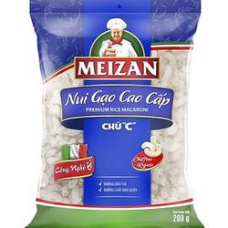 Nui Gạo Cao Cấp Meizan 200gr - Chữ C