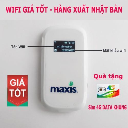 Router Phát Wifi Maxis MF60 - Bộ Phát Wifi Tốt -GIÁ RẺ NHẤT QUẢ ĐẤT