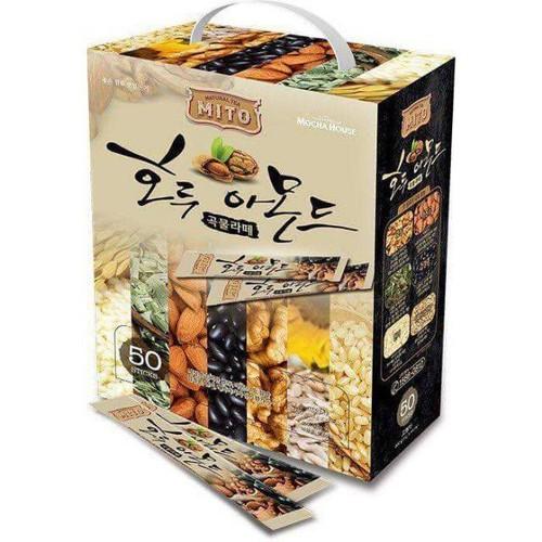 Bột ngũ cốc Mito Hàn Quốc từ hạt dinh dưỡng hộp 50 gói