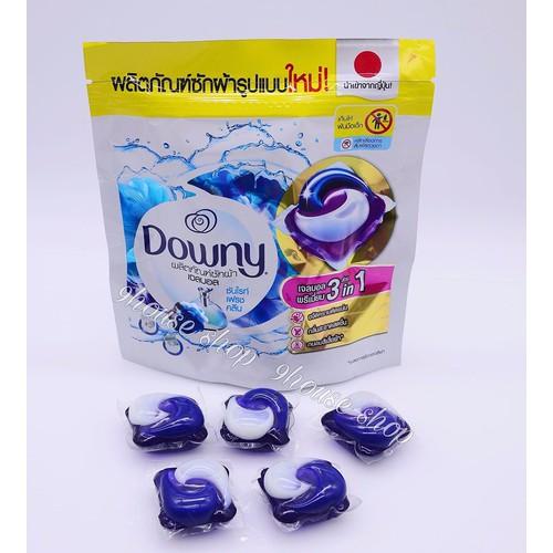 1 Gói Viên Giặt Xả Downy Gel Ball Thái Lan 7 viên