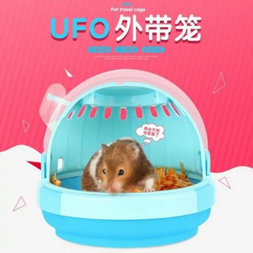 lồng xách tay ufo cho hamster nhím