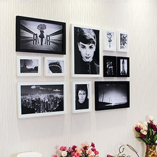 Bộ 11 khung ảnh treo tường quán Cafe KAD1104