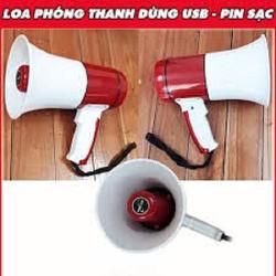 LOA PHÓNG THANH CẦM TAY CÓ GHI ÂM CÓ CỔNG USB