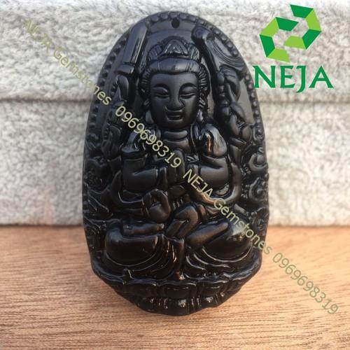 Mặt Dây Chuyền Phật bản mệnh Thiên Thủ Thiên Nhãn Bồ Tát Đá Núi Lửa Obsidian To - NEJA Gemstones - 9097958 , 18793882 , 15_18793882 , 300000 , Mat-Day-Chuyen-Phat-ban-menh-Thien-Thu-Thien-Nhan-Bo-Tat-Da-Nui-Lua-Obsidian-To-NEJA-Gemstones-15_18793882 , sendo.vn , Mặt Dây Chuyền Phật bản mệnh Thiên Thủ Thiên Nhãn Bồ Tát Đá Núi Lửa Obsidian To - NEJA