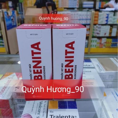 BENITA xịt mũi - giải pháp cho người viêm xoang