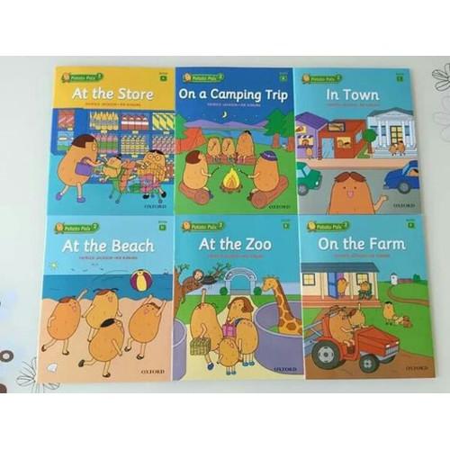 Combo Bộ sách POTATO PALS 12 cuốn Level 1 và 2
