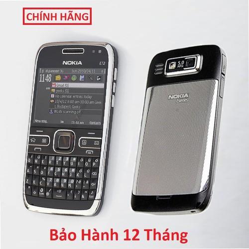 Nokia E72 Chính Hãng - Bảo Hành 1 Năm