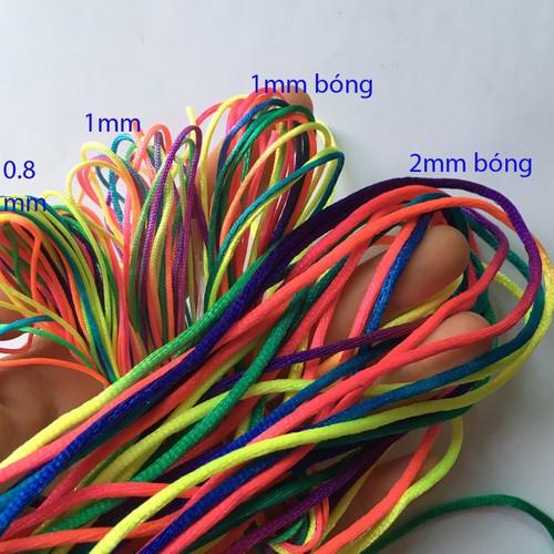 Dây dù màu phối loang lổ 0.8-2mm đan vòng tay handmade, chọn mẫu - 9095493 , 18790394 , 15_18790394 , 10200 , Day-du-mau-phoi-loang-lo-0.8-2mm-dan-vong-tay-handmade-chon-mau-15_18790394 , sendo.vn , Dây dù màu phối loang lổ 0.8-2mm đan vòng tay handmade, chọn mẫu
