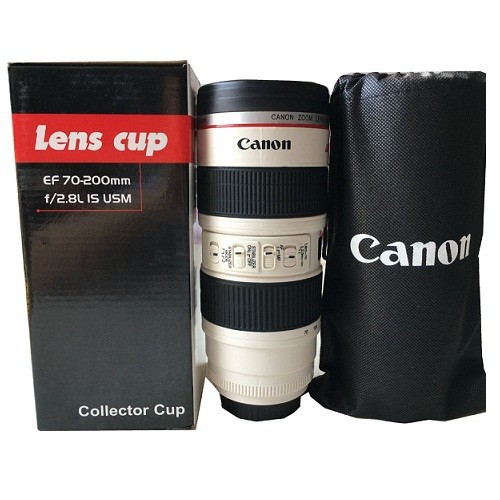 CỐC ỐNG KÍNH CHUẨN LOGO Lens cup Canon 70-200 – L8 Canon