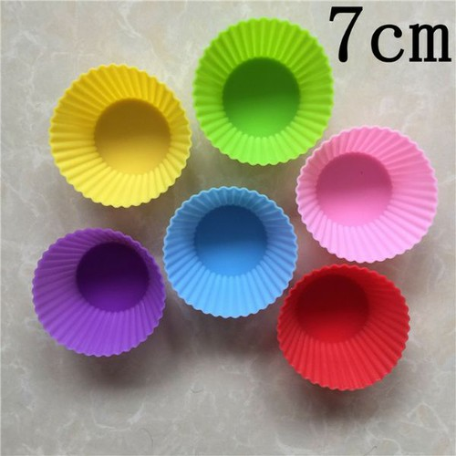 10 Khuôn silicone cup cake
