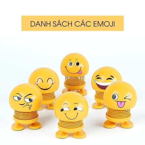 Thú Nhún Emojim Lò xo Dễ Thương- Combo 6 Con