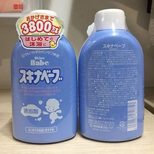 Sữa tắm trị rôm sảy Skina Babe Nhật Bản 500ml - 4844612 , 18807226 , 15_18807226 , 450000 , Sua-tam-tri-rom-say-Skina-Babe-Nhat-Ban-500ml-15_18807226 , sendo.vn , Sữa tắm trị rôm sảy Skina Babe Nhật Bản 500ml