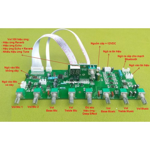 Mạch Echo + Reverb DSP Digital 100 Hiệu ứng  liền music cho loa kéo  + -12VDC - 9102731 , 18800958 , 15_18800958 , 870000 , Mach-Echo-Reverb-DSP-Digital-100-Hieu-ung-lien-music-cho-loa-keo-12VDC-15_18800958 , sendo.vn , Mạch Echo + Reverb DSP Digital 100 Hiệu ứng  liền music cho loa kéo  + -12VDC