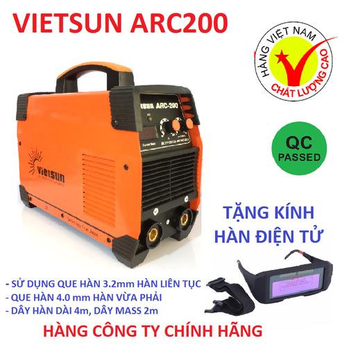 máy hàn điện tử Vietsun ARC200